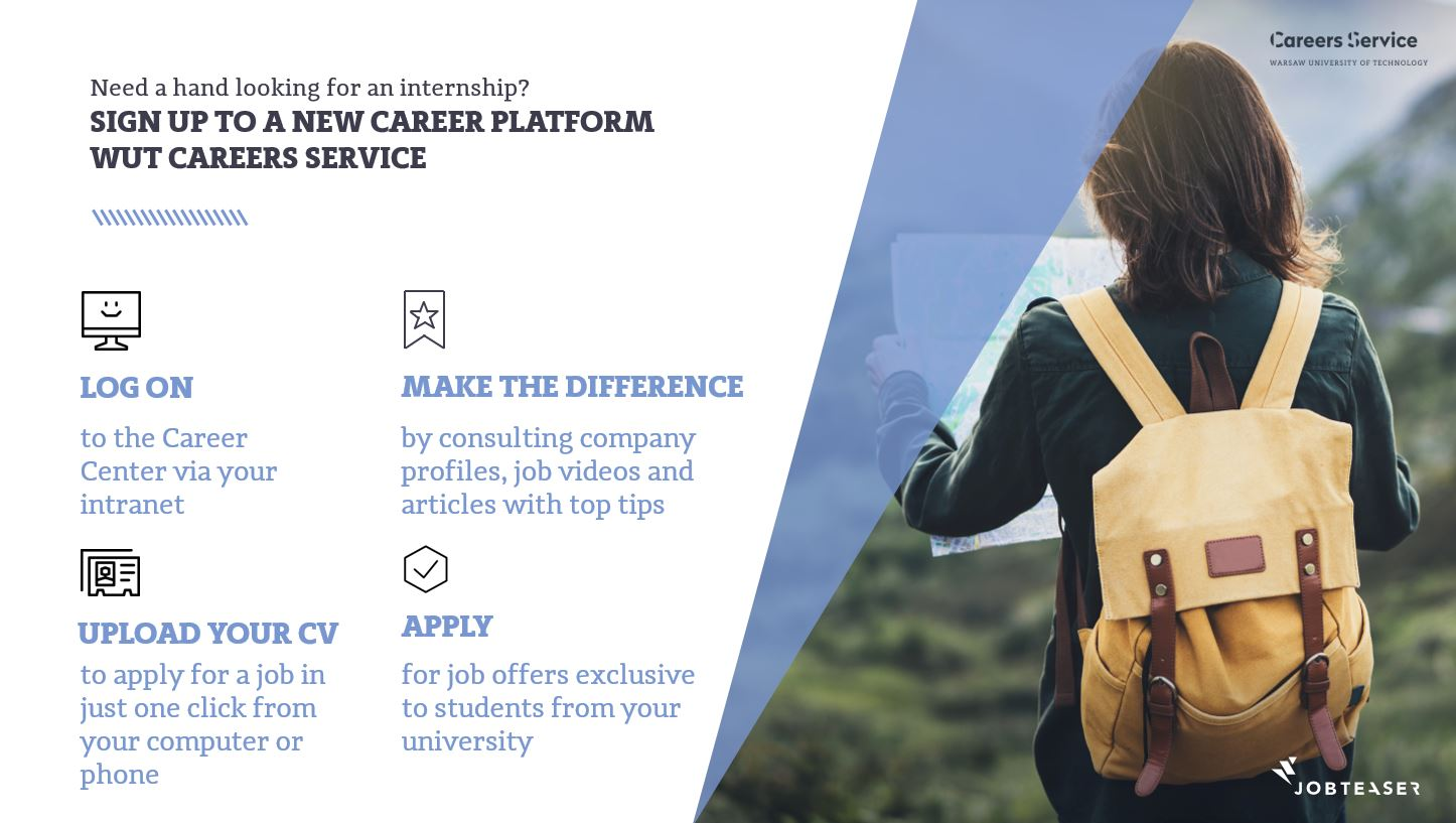 "We have launched a new career platform ""Career Center"""