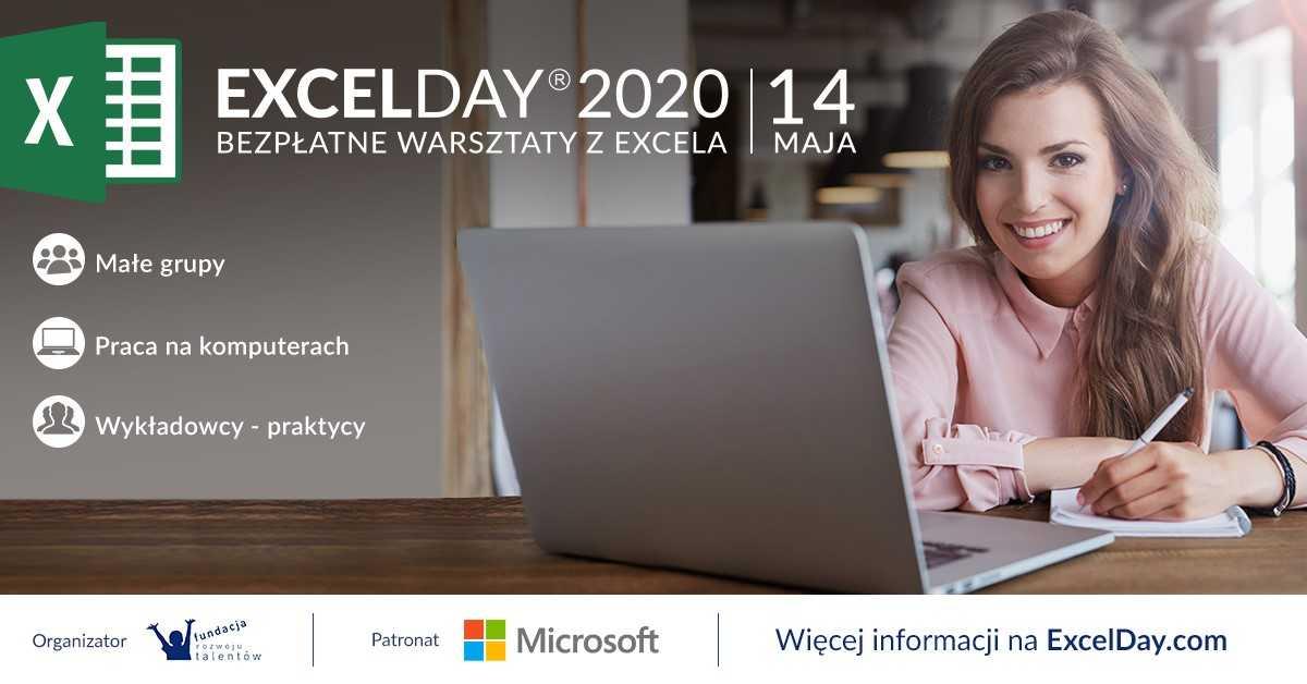Już dziś rusza ogólnopolska akcja ExcelDay 2020!