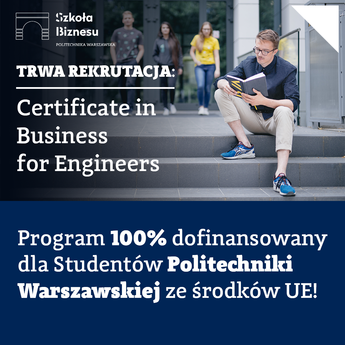 Certificate in Business for Engineers Szkoły Biznesu PW