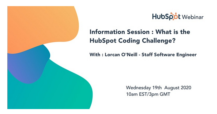 Information Session: What is the HubSpot Coding Challenge?