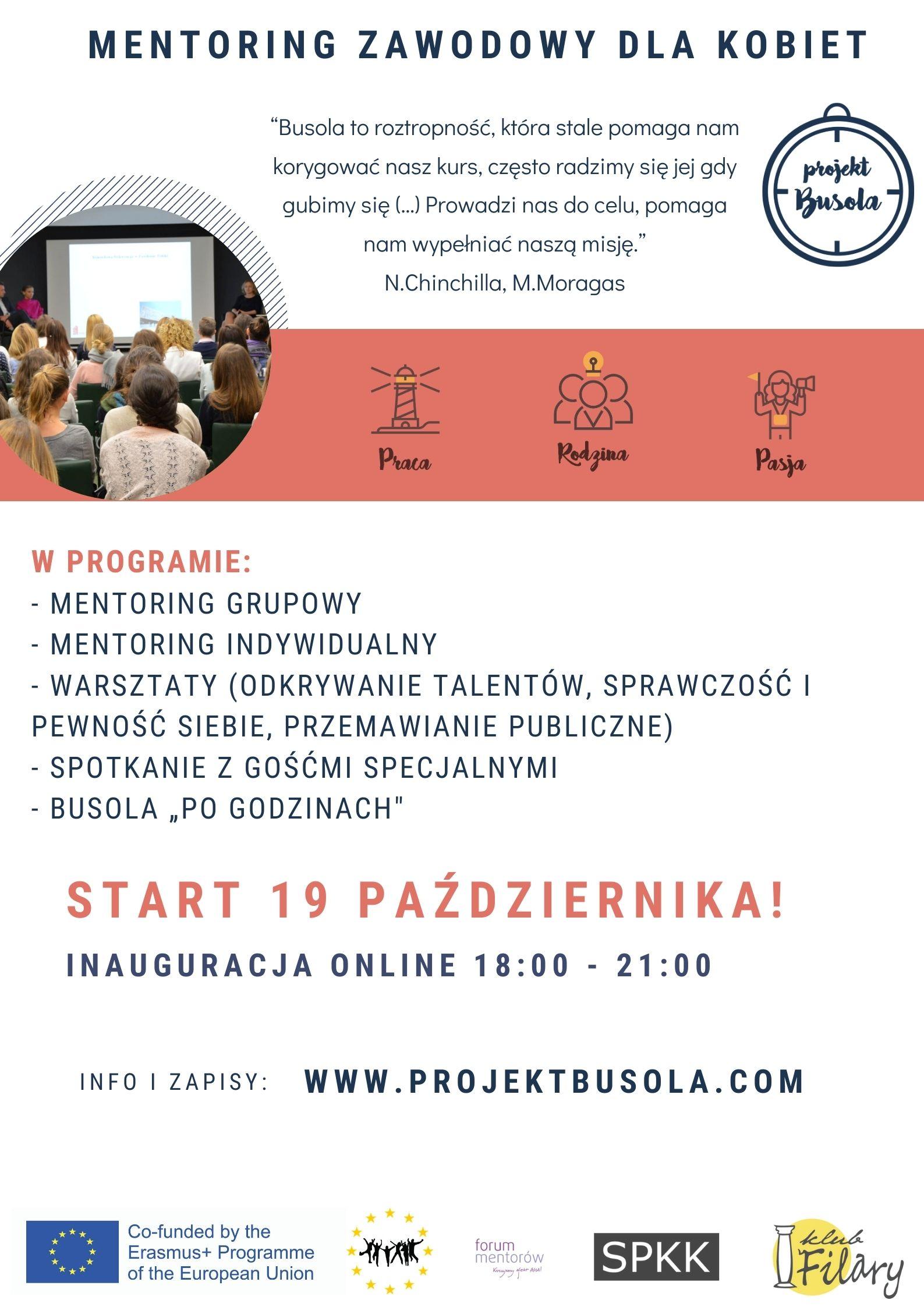 Busola to program mentoringowy skierowany do młodych kobiet