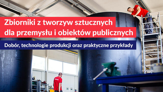 """Nagranie webinaru Amargo """"Zbiorniki z tworzyw sztucznych dla przemysłu i obiektów publicznych"""""""
