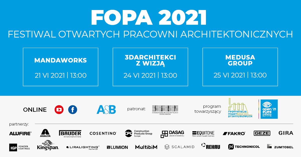Festiwal Otwartych Pracowni Architektonicznych (FOPA)