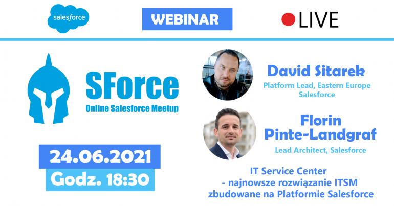 SForce - Online Salesforce Meetup #13 - wydarzenie dla pasjonatów Salesforce
